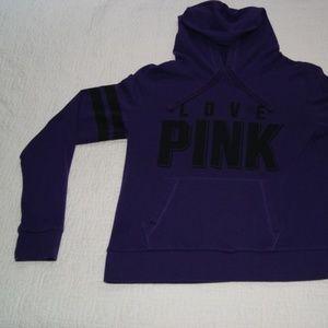 PINK Victoria Secret Long Sleeve Pocketed Hoodie